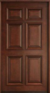 درب چوبی hdf