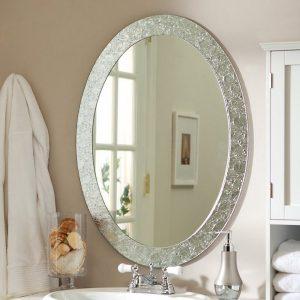 آینه کریستال دکوراتیو