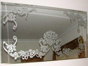 آینه سندبلاست