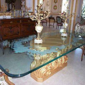 شیشه رومیزی