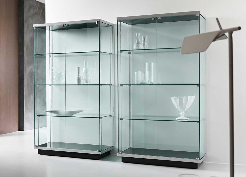 کمد شیشه ای | صنایع شیشه و آینه کولیوند