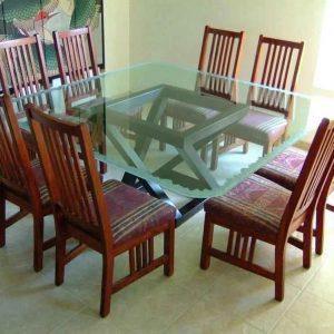 شیشه رومیزی دو پله