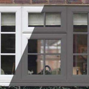 پنجره upvc هافمن