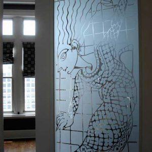 حکاکی روی شیشه