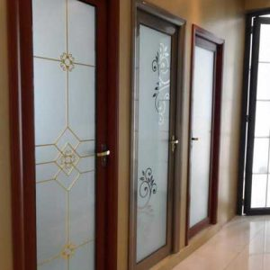 درب آلومینیومی دستشویی