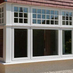 پنجره upvc حفاظ دار