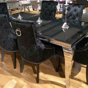 شیشه میز ناهارخوری 8 نفره