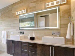 آینه سرویس بهداشتی