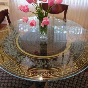 شیشه رومیزی کریستال