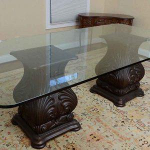 شیشه رومیزی سه پله