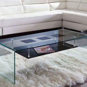شیشه روی میز