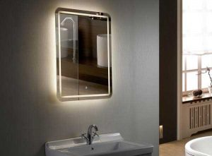 آینه طرح دار