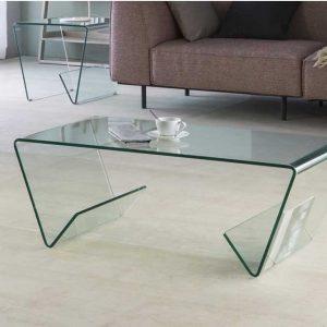 شیشه خم میز
